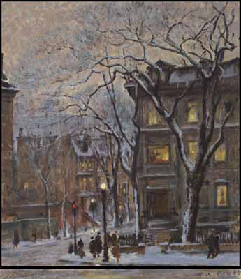 Corner of Sherbrooke and Peel Streets by Robert Wakeham Pilot