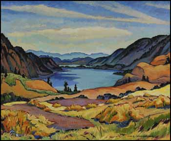 Kalamalka Lake (Looking South), Okanagan, BC by James Williamson Galloway (Jock) Macdonald
