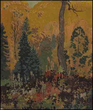 Autumn - Algoma by Frank Hans (Franz) Johnston