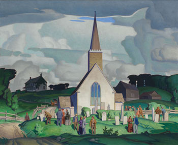 Country Crisis by Alfred Joseph (A.J.) Casson