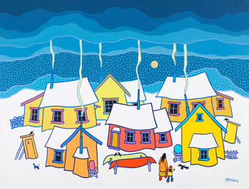 Let's Hurry Home by Ted Harrison