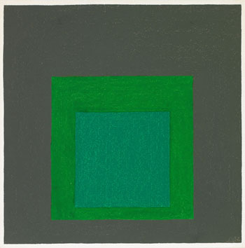 Study for Homage to the Square: New Garland by Josef Albers