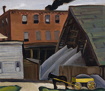 Farm Scene, Brockville by Efa Prudence Heward