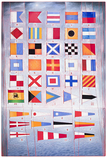 The International Code: Flags for David Judah by David Lloyd Blackwood