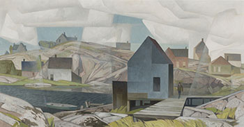 Morning on the Inlet by Alfred Joseph (A.J.) Casson