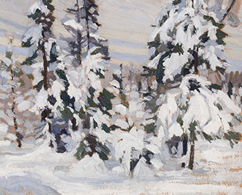 Winter in the Woods by Franklin Carmichael