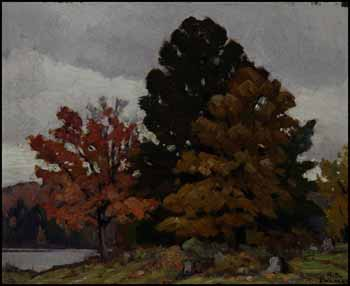 Grey October by Herbert Sidney Palmer