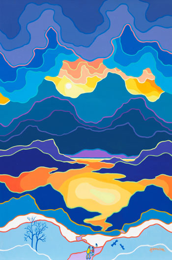 A Land Called Yukon by Ted Harrison