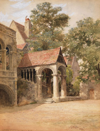 The Porch by Lucius Richard O'Brien