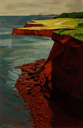 Cavendish Headland, P.E.I. by Alan Caswell Collier