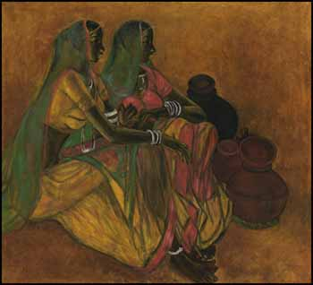 Two Women by B. Prabha