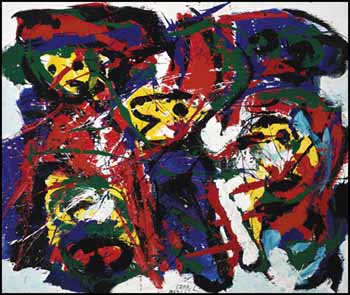 Wingy People by Karel Appel