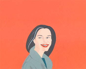 Big Red Smile by Alex Katz
