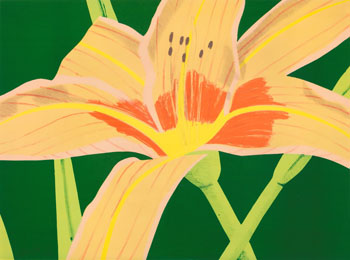Day Lily I by Alex Katz