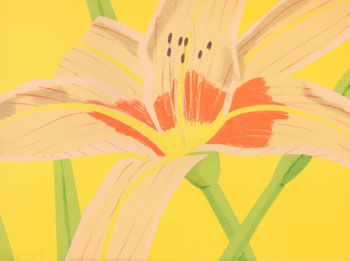 Day Lily 2 by Alex Katz
