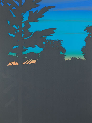 Twilight 1 by Alex Katz