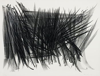 L 124 by Hans Hartung