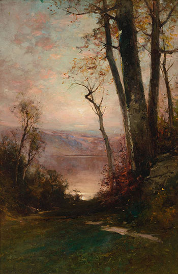 Path to the Lake by George Henry Smillie
