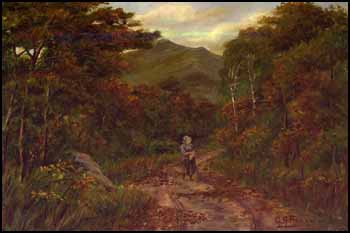 Figure in a Landscape by George Agnew Reid