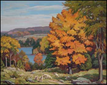 October Over Shadow Lake, Haliburton by Herbert Sidney Palmer