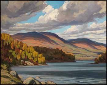 October Morning on Long Lake by Herbert Sidney Palmer