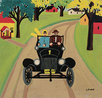 Out for a Drive by Maud Lewis