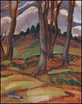 Landscape with Trees by Lilias Torrance Newton