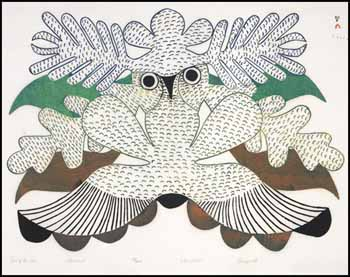 Owl of the Sea by Kenojuak Ashevak