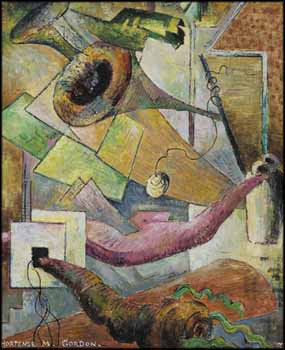Still Life Abstraction by Hortense Mattice Gordon