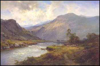 On the Banks, O'Doune by Alfred de Breanski Sr.