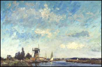 Thurne Mouth, Norfolk by Edward Seago
