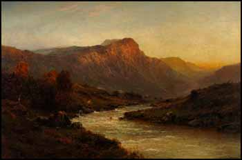 Glen Shiel by Alfred de Breanski Sr.