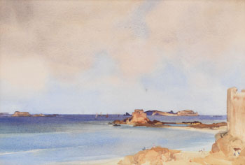 The Bay of Islands by William Russell Flint