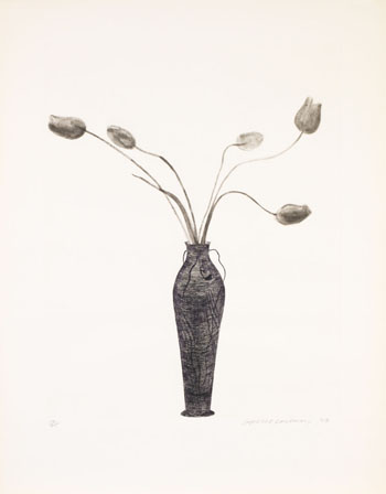 Tulips by David Hockney