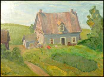 House near Grenville by Muriel Yvonne McKague Housser