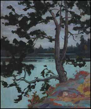 A Northern Lake by George Agnew Reid
