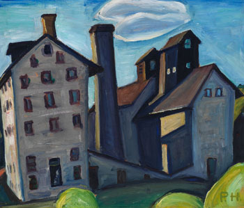 Granary Buildings by Efa Prudence Heward