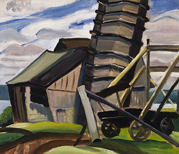 Farm on the St. Lawrence Near Brockville by Efa Prudence Heward