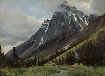 Camp in the Rockies by William Brymner