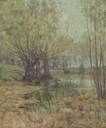 The Pond by George Agnew Reid
